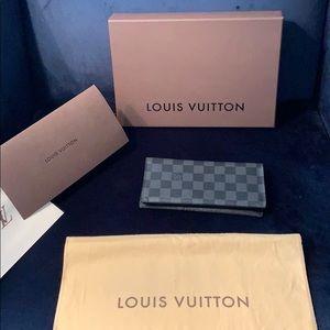 Louis Vuitton PF. Brazza Damier graphite Wallet